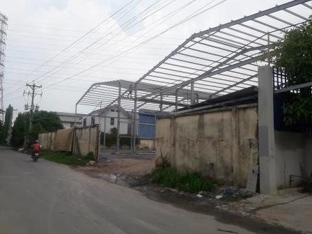 Nhà xưởng cho thuê tại Thuận An, Bình Dương