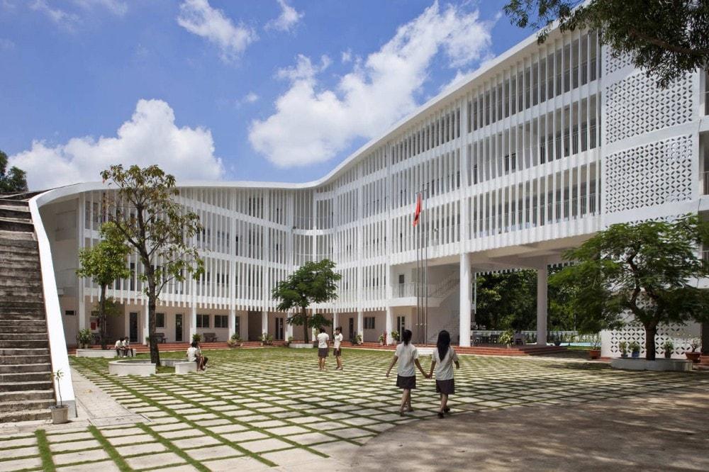 Xây dựng công trình trường học