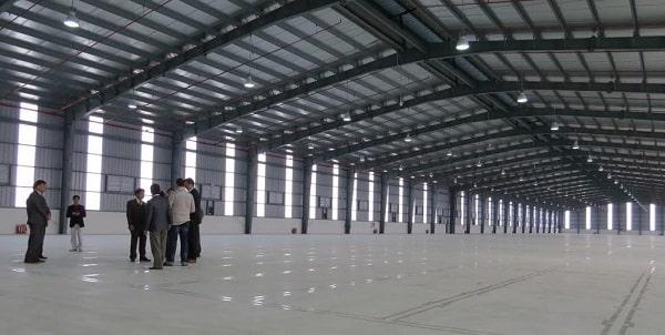 Nhà xưởng tối đa hóa về không gian sử dụng
