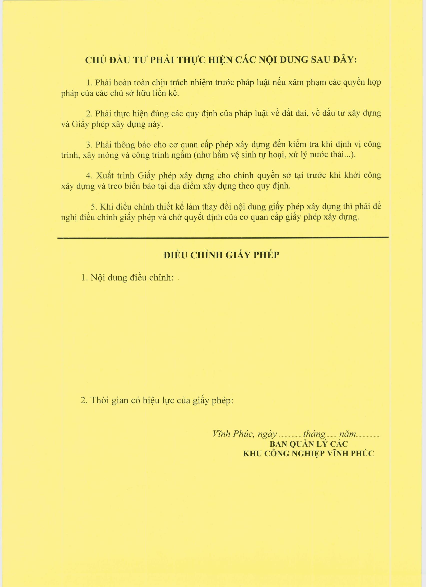 Xin giấy phép xây dựng nhà xưởng