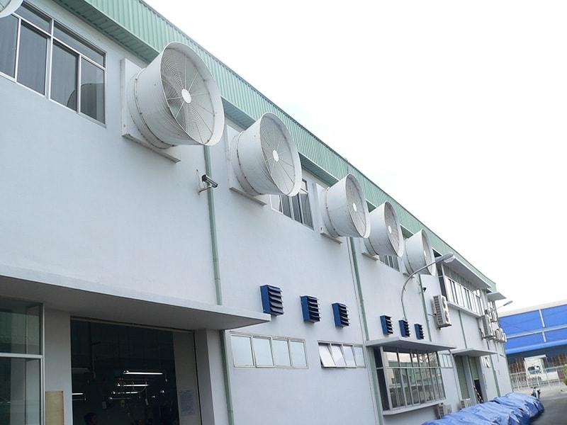 Hệ thống thông gió nhà xưởng công nghiệp