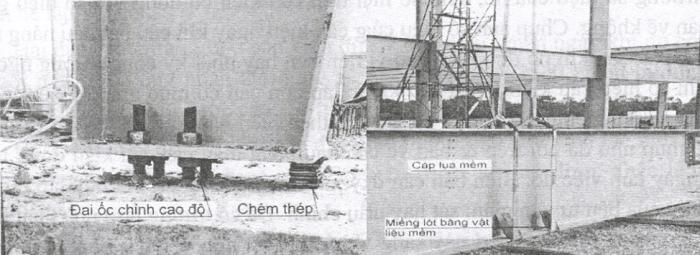 Lắp khung, cột nhà thép tiền chế