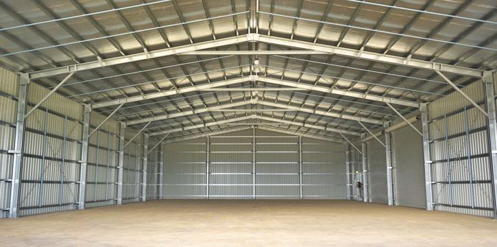 Mẫu nhà xưởng nhỏ diện tích 1000m²