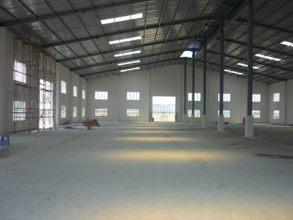 Mẫu nhà xưởng nhỏ diện tích 1500m²