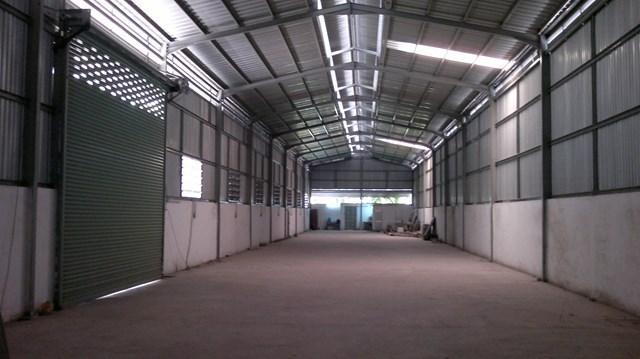 Mẫu nhà xưởng nhỏ diện tích 600m²