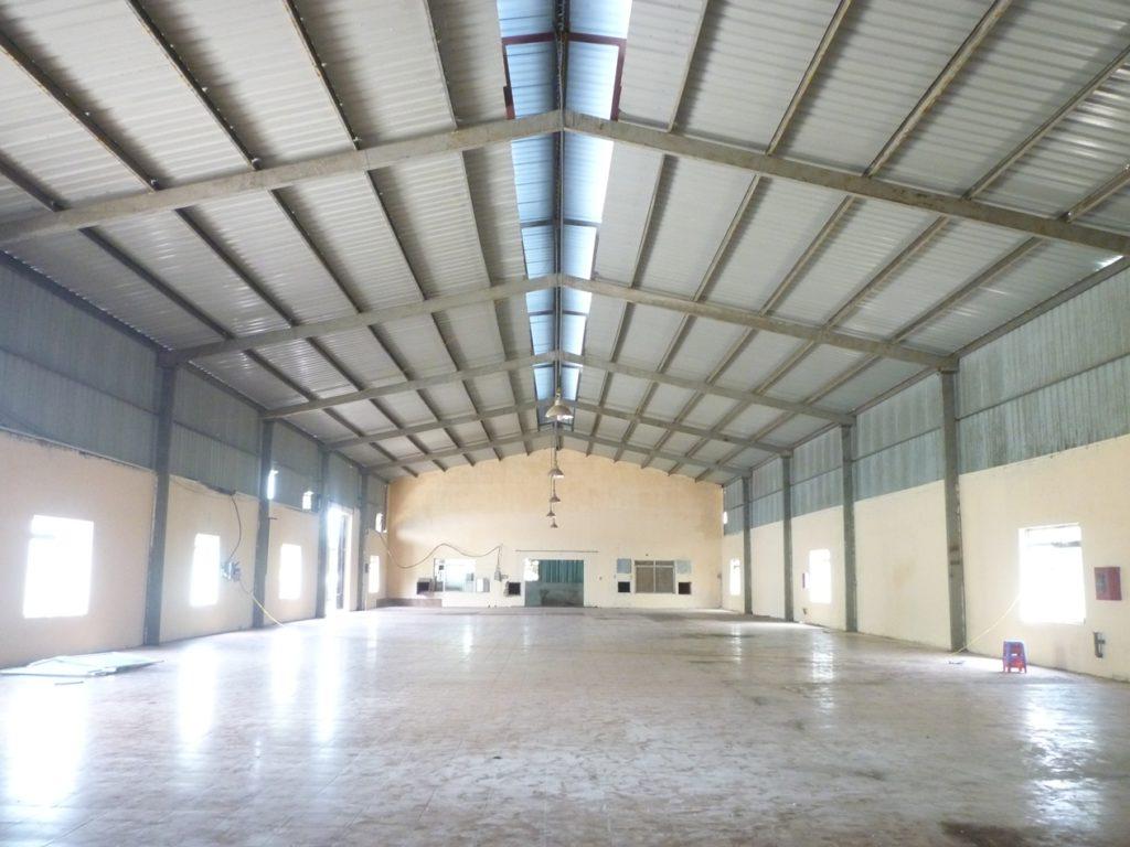Mẫu nhà xưởng nhỏ diện tích 800m²
