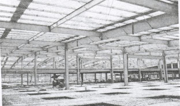 Hình ảnh minh họa quy trình lắp dựng nhà thép tiền chế