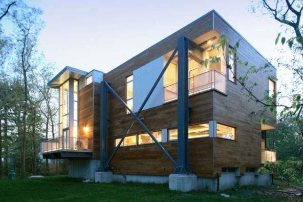 Đơn giá làm nhà phố bằng kết cấu khung thép