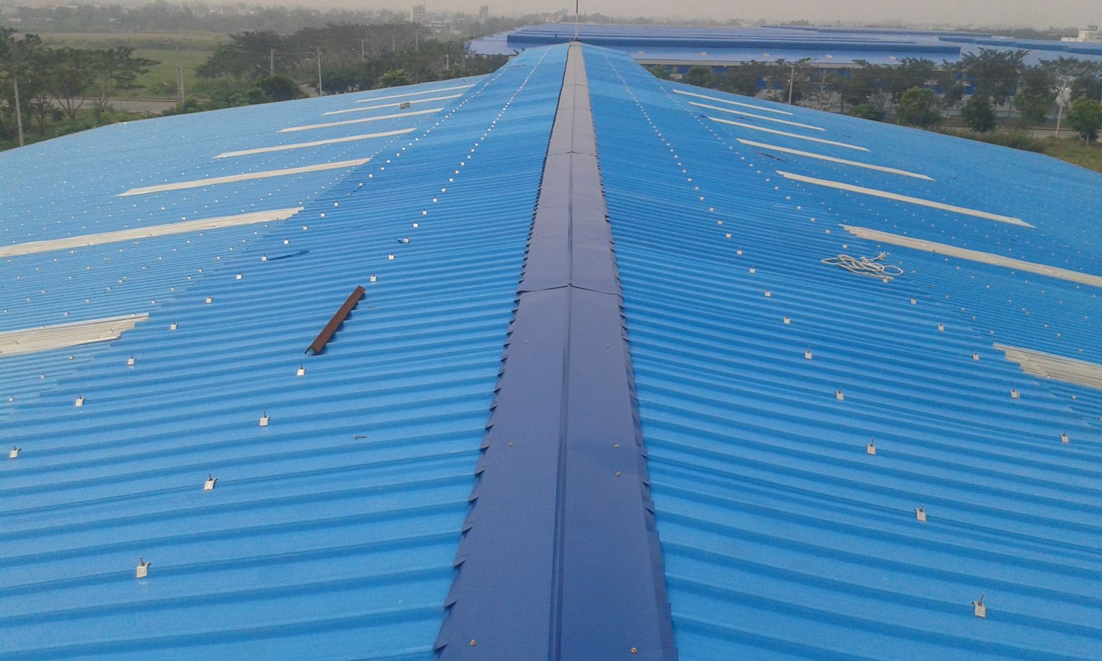 Cấu tạo mái nhà công nghiệp