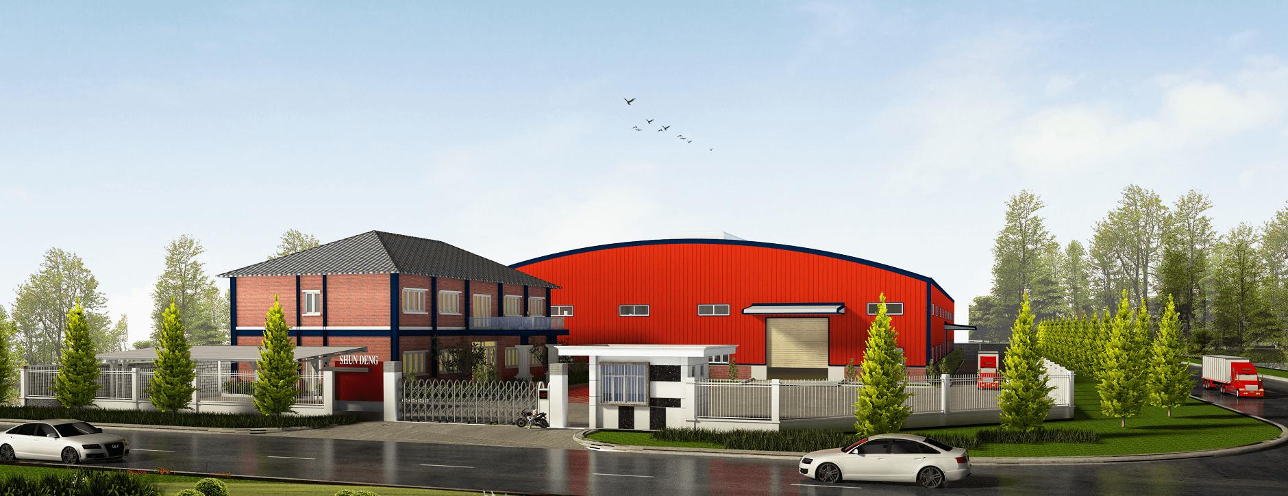Shun Deng Technology - Xây dựng công trình công nghiệp