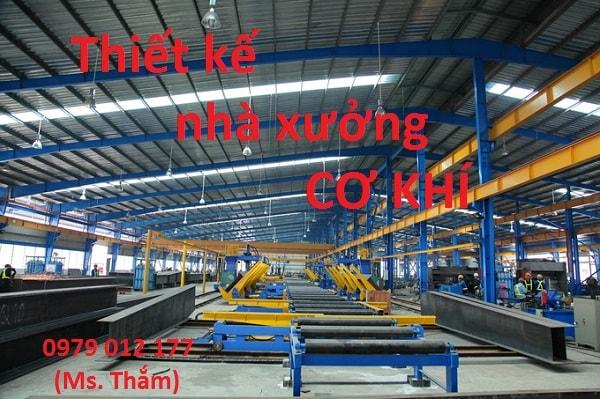 Thiết kế nhà xưởng cơ khí