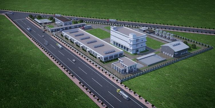 Thiết kế nhà xưởng tại Thủ Dầu Một