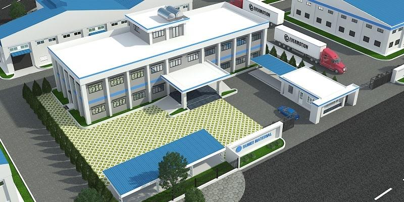 Mẫu thiết kế nhà xưởng (ĐẸP NHẤT)