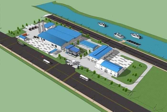 Mẫu thiết kế nhà xưởng sản xuất Đồng Nhân