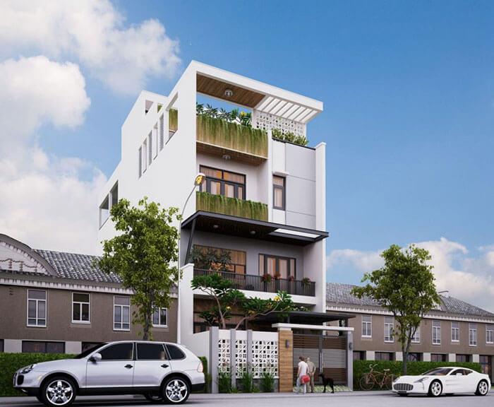 Thiết kế nhà phố đẹp Bình Dương với chi phí hợp lý