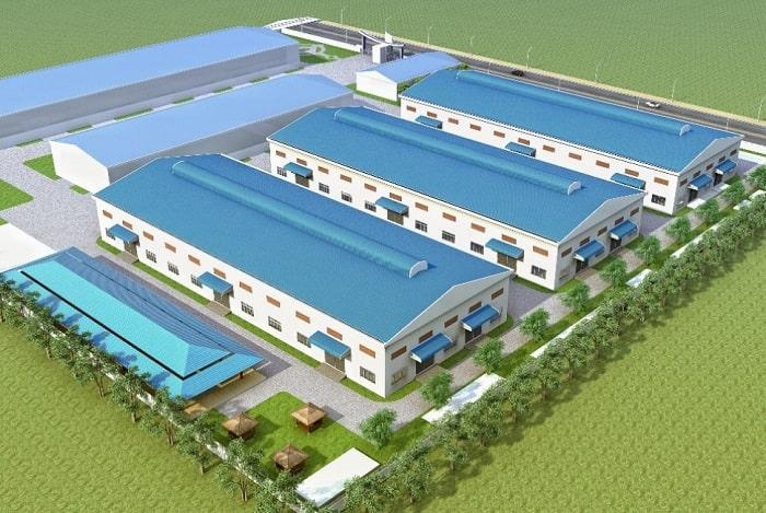 Mẫu thiết kế nhà máy YC TEC