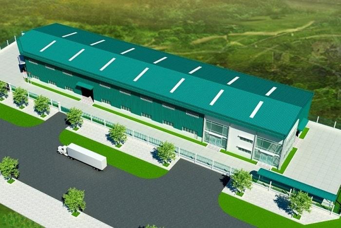 Mẫu thiết kế Nhà máy BKL