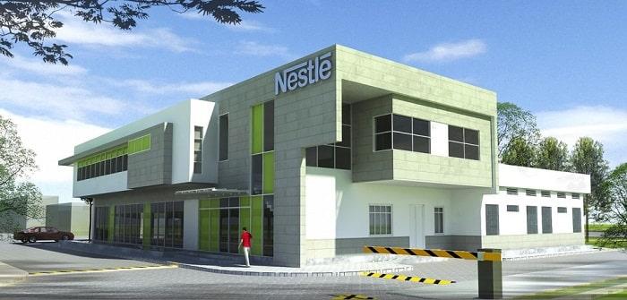 Mẫu thiết kế nhà máy Nestle