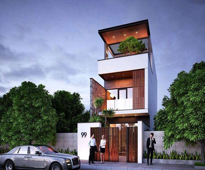 Thiết kế nhà đẹp tại Bình Dương với kiến trúc chất lượng nhất dành cho gia chủ