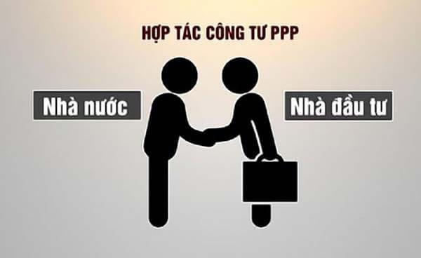 PPP là việc mà Nhà nước (Chính phủ) và Nhà đầu tư cùng phối hợp thực hiện các dự án bằng cách thảo luận và ký kết hợp đồng
