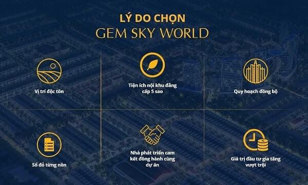 3 thông tin về dự án Gem Skyworld tại Long Thành, Đồng Nai
