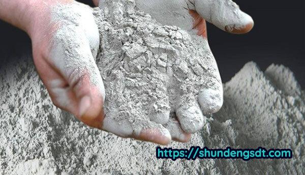 Xi măng là một thành phần không thể thiếu của bê tông