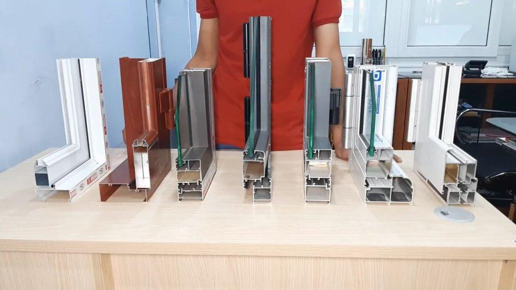 Giới thiệu các loại cửa nhôm kính Hải Phòng phổ biến